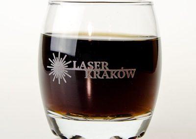 Grawerowanie szkła - szklanka