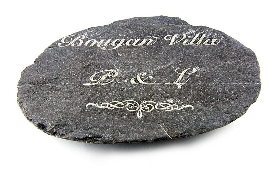 Inne rodzaje Kamień grawerowany laserem - idealny prezent lub pamiątka VI82