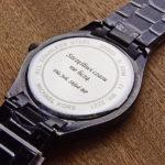 Laserowe grawerowanie zegarków - doskonały pomysł na prezent