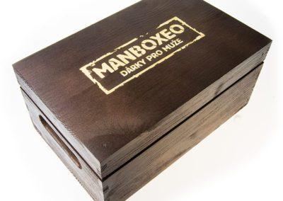 Drewniane pudełko grawerowane laserowo