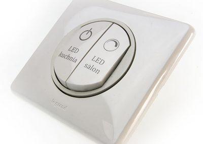 Laserowe znakowanie przycisków i przełączników
