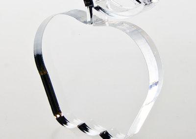Cięcie pleksi (PMMA) laserem